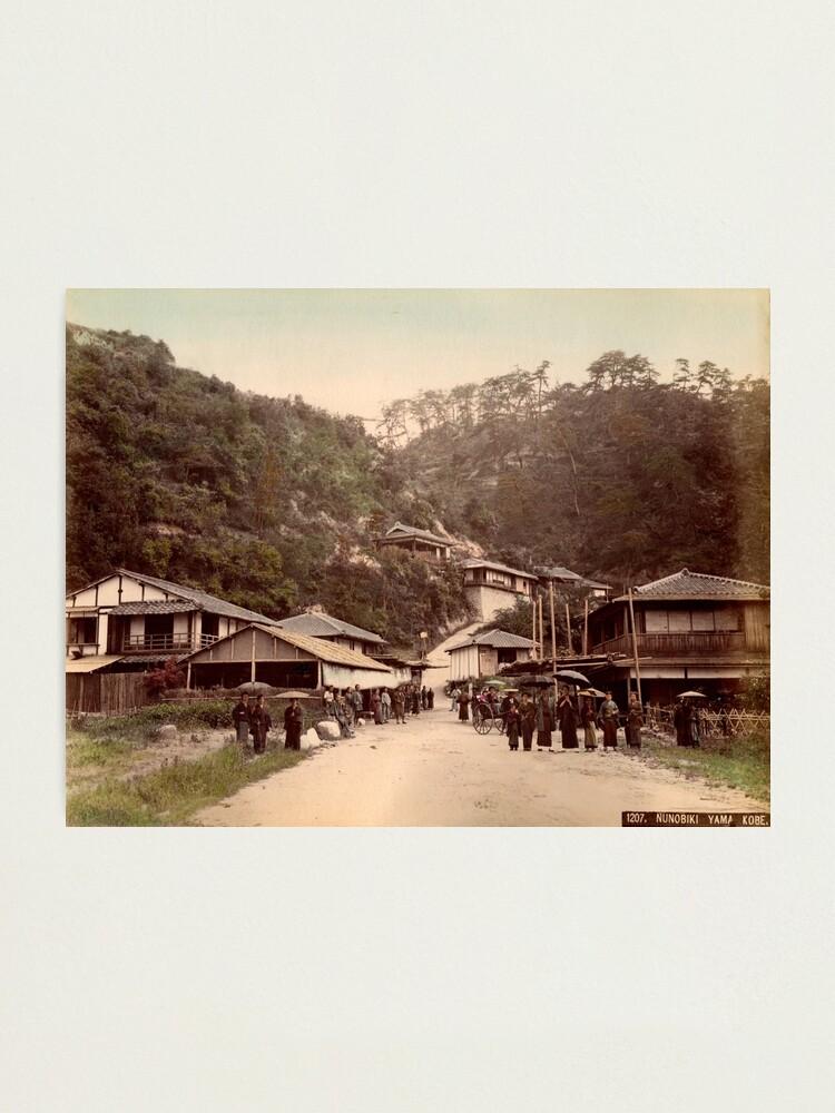 Alternate view of Nunobiki Yama, Japan Photographic Print