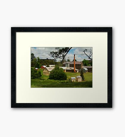 Anderson's Mill,Smeaton  Framed Print