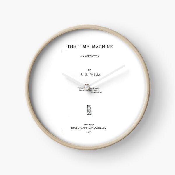 Die Time Machine von H. G. Wells Titelseite Uhr