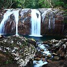 Koombooloomba Falls, Euramo, Far North Queensland by Ron  Wilson