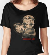 monkey with a gun - black t Women's Relaxed Fit T-Shirt