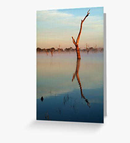 Lake Fyans Greeting Card