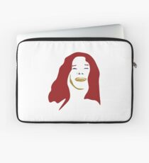 Janice in Red  Laptop Sleeve