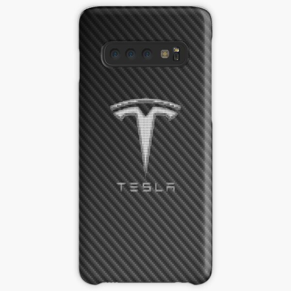 Tesla Carbon Fiber Samsung Galaxy Snap Case