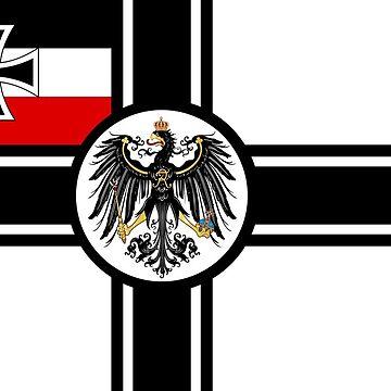 Imperial German Army Flag by General-Rascal