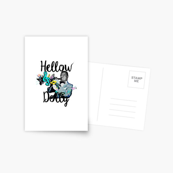 Hellow Dolly  Postcard