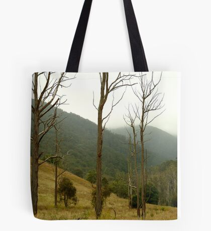 Evening Mist,Jackson's Crossing, Snowy River Tote Bag