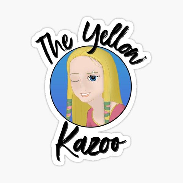 TheYellowKazoo Logo Sticker