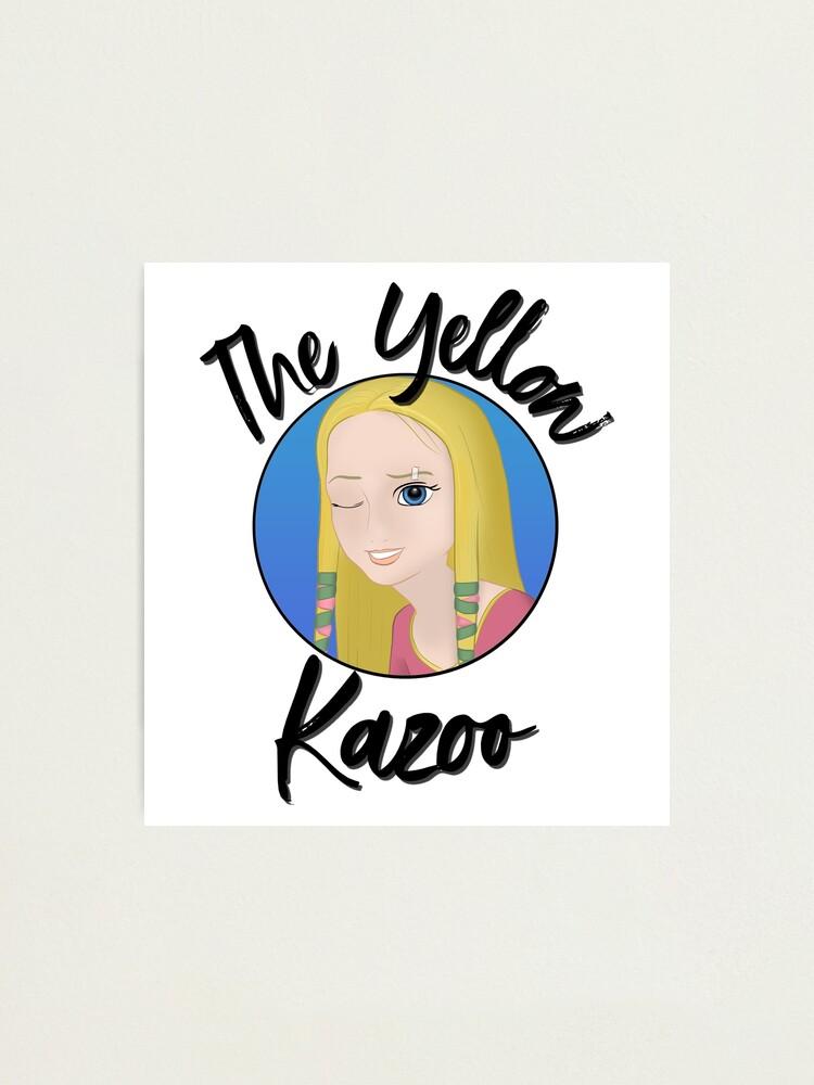 Alternate view of TheYellowKazoo Logo Photographic Print