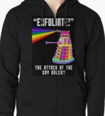 Gay Dalek Zipped Hoodie