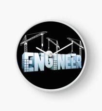 Engineer Birthday Gift Ideas Clock