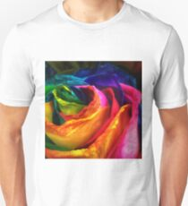 Rainbow Rose Unisex T-Shirt