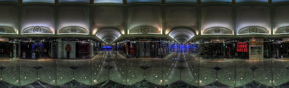 Tattersall's Arcade. Brisbane, Australia. by David James