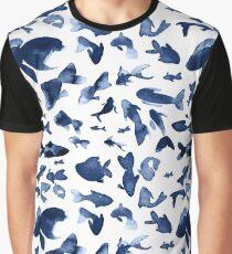 Indigo Ocean Graphic T-Shirt