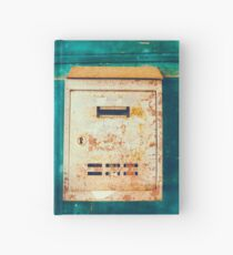 Rusty mailbox Hardcover Journal