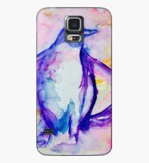 Splashy Penguin Case/Skin for Samsung Galaxy