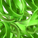 Entanglement in Lime by Orla Cahill