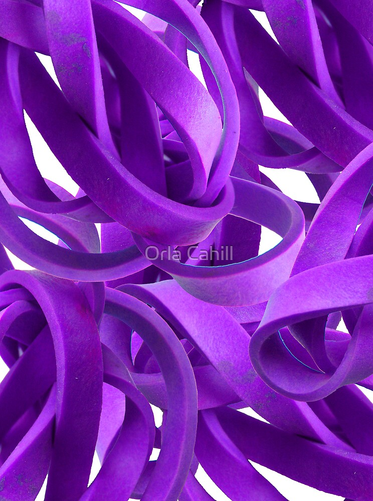 Entanglement in Purple by Orla Cahill