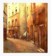 A Moment in Rome Photographic Print