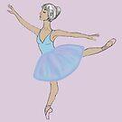 Blue Ballerina by SaylorDoone