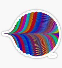 sdd Abstract Fractal 96H Sticker