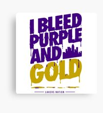 Lakers Canvas Print