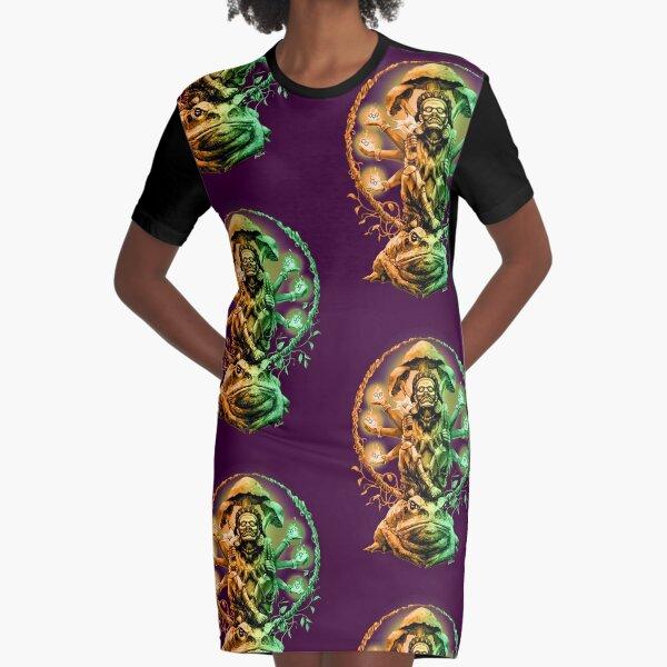 Entheogens2 Graphic T-Shirt Dress