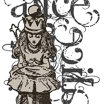 Alice In Wonderland Queen Alice Grunge by incognitagal