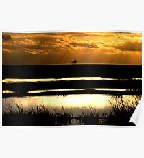 Lancashire sunset Poster