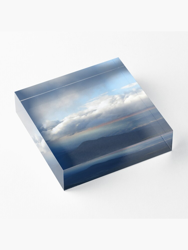 Alternate view of Clouds #1 Acrylic Block