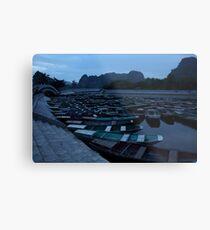 Tam Coc Boats Metal Print