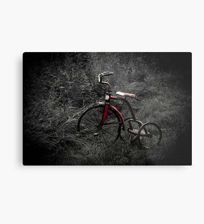 Wheels of Memories Metal Print