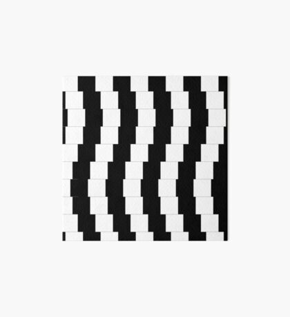 Op Art 002 - Illusion Art Board Print