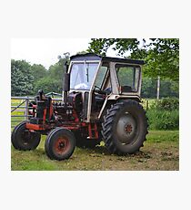 David Brown Tractor Photographic Print