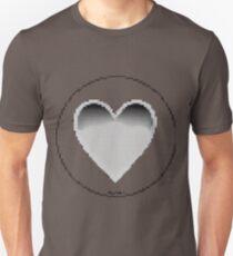 Pixiilated Heart 5 by RootCat Unisex T-Shirt