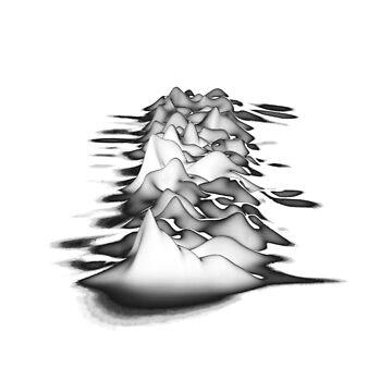 Joy Division Unknown Pleasures Black by blacktocomm