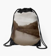 SNOW AND WATER  Drawstring Bag