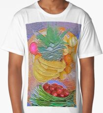 a table full of exotic fruit Long T-Shirt