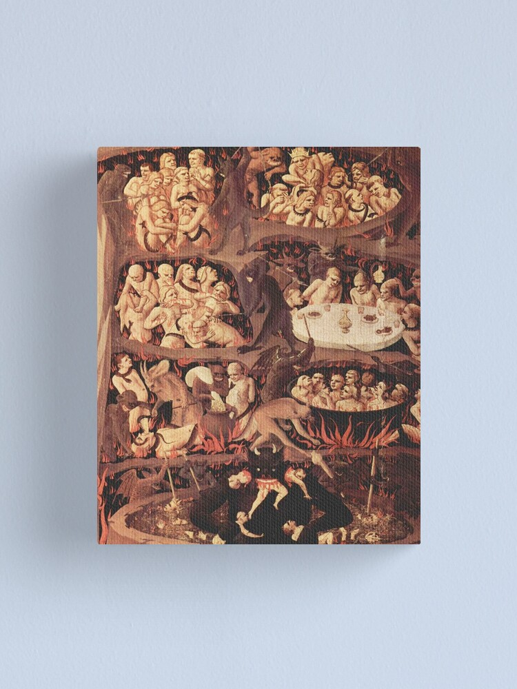 Alternate view of HD The Last Judgment (Fra Angelico, Florence) HIGH DEFINITION Canvas Print