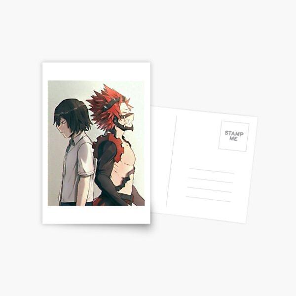 Eijiro Kirishima/ Red Riot Postcard