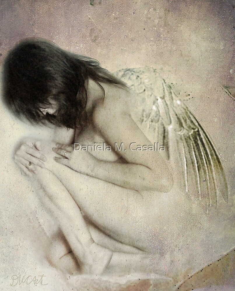 I saw an angel in the marble... by DMCart Daniela M. Casalla