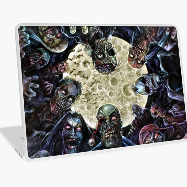 Zombies Attack (Zombie horde) Laptop Skin