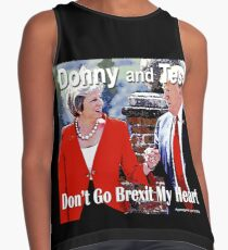 Don't Go Brexit My Heart Contrast Tank