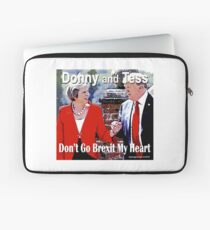 Don't Go Brexit My Heart Laptop Sleeve