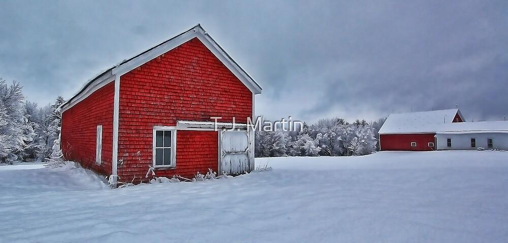 The Lindscott Farm -- Bridgton, Maine by T.J. Martin