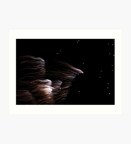 An Angel Falls From the Sky Art Print