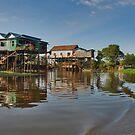 Floating Village by Adri  Padmos