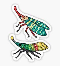 Lantern Flies Sticker