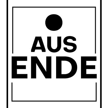 Point out end saying design sticker by PP91