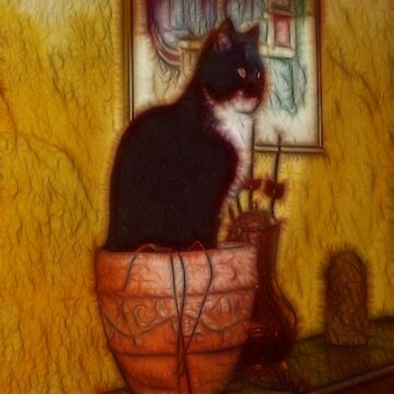 The Kitten Plant by LuciaS